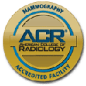 Mammography Accredited Facility: American College of Radiology